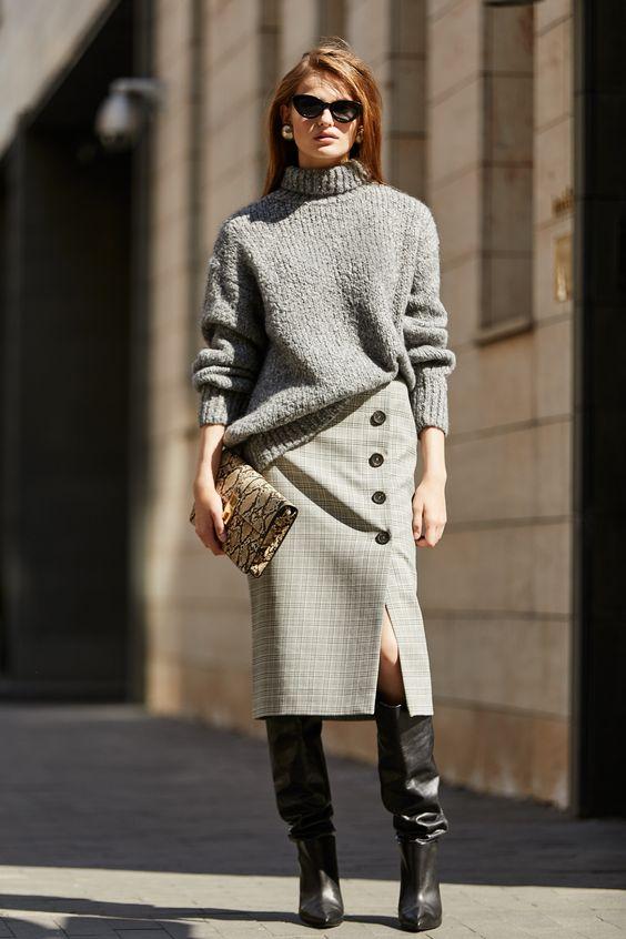 modne botki na obcasie